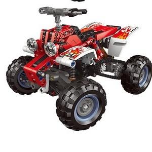 星堡积木 科技积木系列 07005 越野沙滩摩托