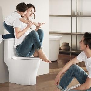 惠達衛浴虹吸式小戶型衛生間抽水除臭馬桶家用節水陶瓷坐便器