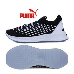 彪马Puma男鞋2018AVID网面跑步鞋一脚穿轻便减震耐磨运动鞋36724201