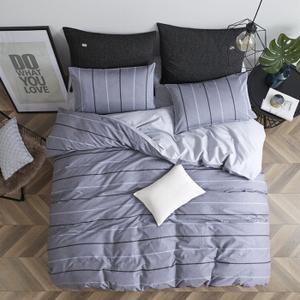 16日0点:LOVO家纺床上四件套纯棉 时尚全棉床单被套床品套件 布加诺220*240cm