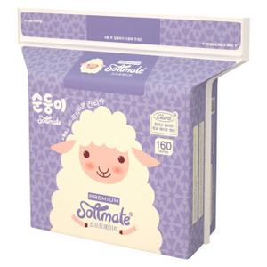 京东plus 顺顺儿 婴儿棉柔巾 160片 *5件
