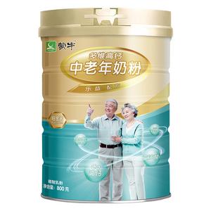 MENGNIU 蒙牛 铂金装 多维高钙中老年奶粉 带奶粉勺 800g *4件