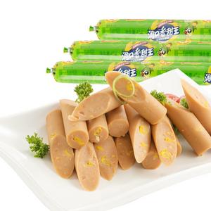 双汇 火腿肠 润口香甜王 玉米风味香肠 30g*9/袋 *2件