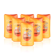【亚马逊Prime Day】L'Oreal Paris 欧莱雅 儿童洗发水 250ml*6瓶 热带芒果香