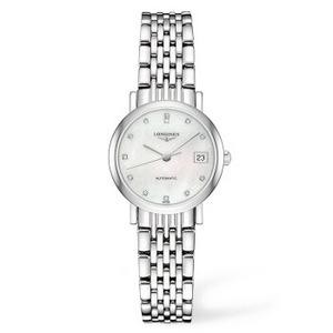 京东PLUS会员:LONGINES 浪琴 博雅系列 L4.309.4.87.6 女士机械腕表
