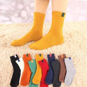 甲已人 女款中筒袜 5双装