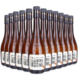 一担粮老北京二锅头 白酒 42度清香型 逗号款 480ml*12瓶 整箱装