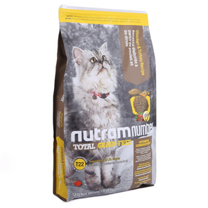 nutram 纽顿 T22 宠物猫粮 鸡肉&火鸡肉 5.45kg