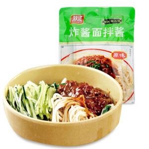 双汇 炸酱面拌面酱(原味)老北京风味肉酱 150g 袋