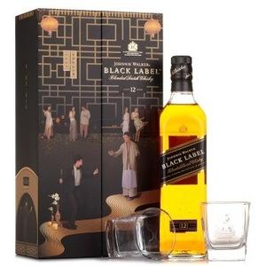 JOHNNIE WALKER 尊尼获加 黑牌调配型苏格兰威士忌 *3件