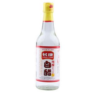 长康 醋 纯酿白醋 无添加食醋500ml