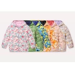 历史低价:Les enphants 丽婴房 儿童双面穿轻薄羽绒服 *3件