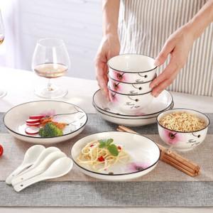 希望之花16件套中式餐具