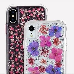 Case-Mate iPhone XS/XSMax 金箔干花瓣 手机壳 *2件