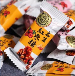 徐福红枣花生芝麻糕250克10.9元