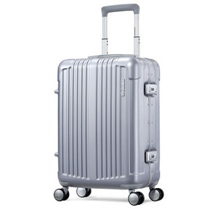 AMERICAN TOURISTER 美旅 ALVA BB5 万向轮拉杆箱 21英寸 银色