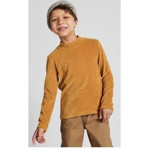 UNIQLO 优衣库 儿童摇粒绒高领T恤