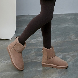 大东 女士蝴蝶结套筒雪地靴 *2件