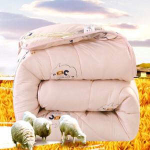 冬季加厚保暖羊毛被 200*230cm-6斤(需用卷)
