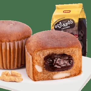 好想你 红枣核桃蛋糕180g(内含约6小袋) *6件