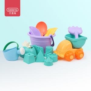 京东PLUS会员:beiens 贝恩施 儿童沙滩玩具 14件套 *6件